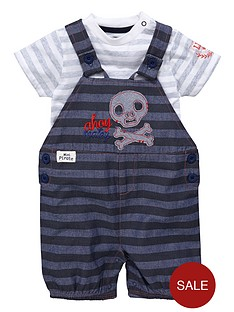 ladybird-boys-pirate-dungaree-set