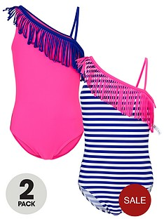 freespirit-girls-tassel-swimsuit-2-pack