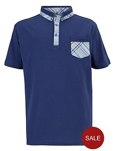 ben-sherman-check-trim-polo-shirt