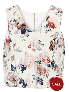little-misdress-floral-cut-away-top