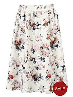 little-misdress-floral-flare-skirt