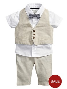 mamas-papas-4-piece-waistcoat-set