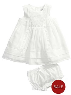 mamas-papas-embroidery-bib-dress-and-knickers