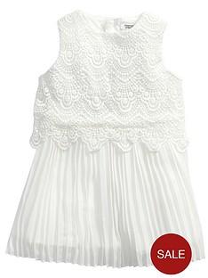 mamas-papas-cream-lace-dress
