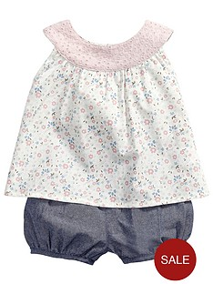 mamas-papas-2-piece-top-and-shorts-set