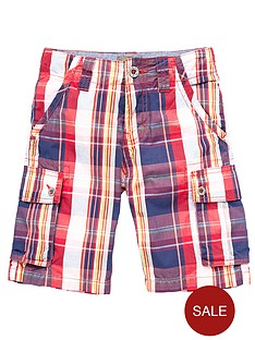timberland-check-cargo-shorts
