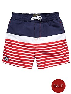 timberland-striped-swimshorts