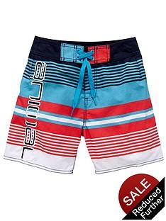 animal-stripe-board-shorts