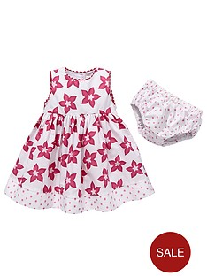 pumpkin-patch-baby-girls-flower-print-dress-with-briefs-2-piece-set