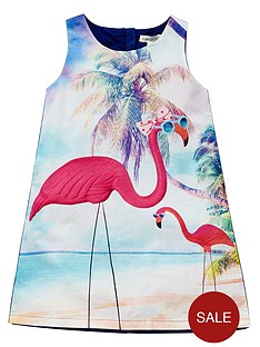 pumpkin-patch-flamingo-beach-dress