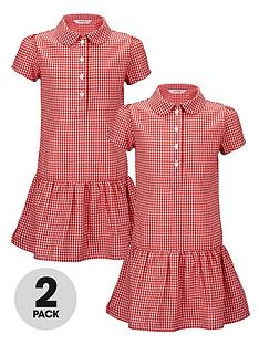 top-class-girls-dropped-waist-summer-dresses-2-pack