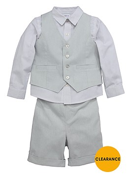 ladybird-boys-shirt-shorts-and-waistcoat-set-3-piece