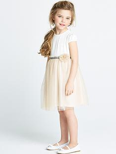 ladybird-girls-pretty-lurex-mesh-dress