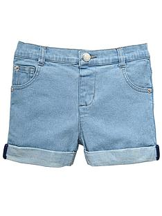 ladybird-girls-light-wash-denim-shorts
