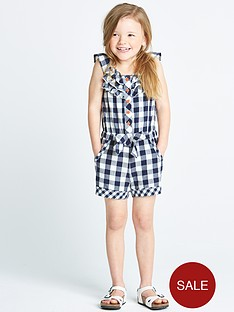 ladybird-girls-gingham-playsut