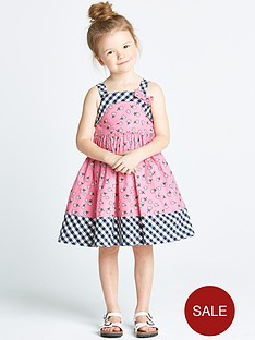 ladybird-toddler-girls-daisy-gingham-dress