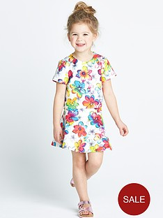 ladybird-girls-floral-scuba-top-and-skirt-set-2-piece