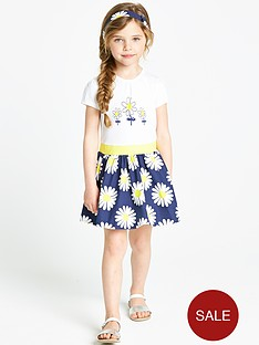 ladybird-girls-short-sleeve-daisy-dress