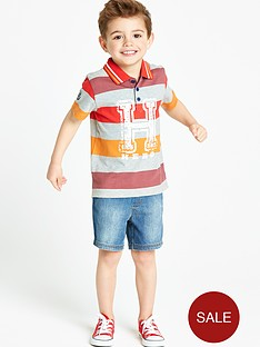 ladybird-boys-polo-shirt-and-denim-shorts-2-piece-set