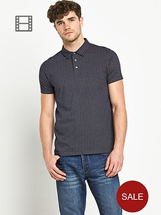 french-connection-mens-spot-polo-shirt