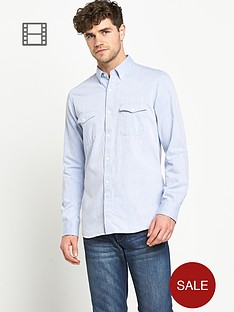 french-connection-mens-chambray-long-sleeve-shirt