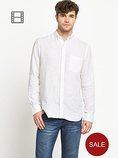 french-connection-mens-linen-long-sleeve-shirt