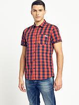 Originals Mens East Check Shirt