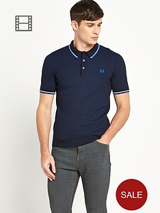 fred-perry-mens-textured-knitted-polo-shirt