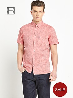 ben-sherman-mens-linen-mix-short-sleeve-shirt
