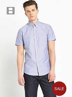 ben-sherman-mens-oxford-dot-print-short-sleeve-shirt
