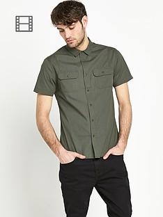 goodsouls-mens-short-sleeve-poplin-shirt