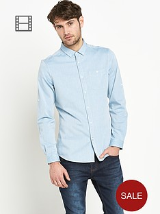 goodsouls-mens-long-sleeve-roll-tab-herringbone-shirt