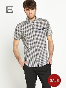 goodsouls-mens-short-sleeve-tile-print-shirt