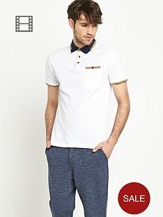 goodsouls-mens-short-sleeve-collar-smart-pique-polo-top