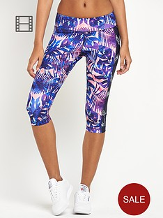 reebok-palm-print-three-quarter-tights