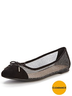 carvela-miami-sheer-flat-ballerinas