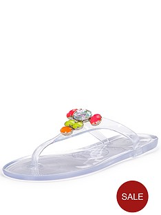 carvela-sunburst-jewel-jelly-flat-sandals