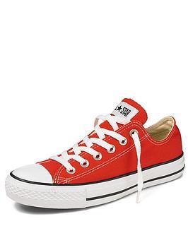Converse All Star Ox Junior Plimsolls  Red