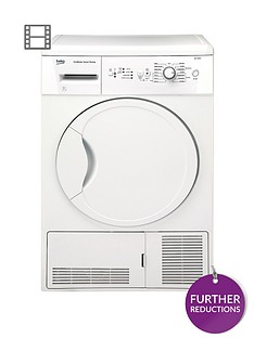beko-dcu7230w-7kg-load-sensor-condenser-dryer-next-day-delivery-white