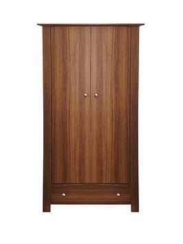 Milano 2-Door, 1-Drawer Wardrobe
