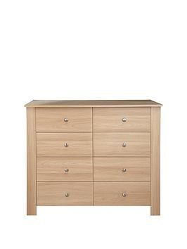 Milano 4 + 4 Chest of Drawers