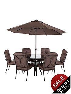 florence-6-seat-cushioned-dining-set-with-optional-next-day-delivery