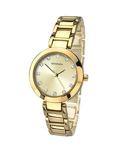 sekonda-editions-champagne-sunray-dial-gold-plated-bracelet-ladies-watch