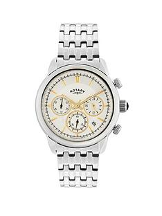 rotary-monaco-chronograph-white-dial-gold-markers-stainless-steel-bracelet-mens-watch