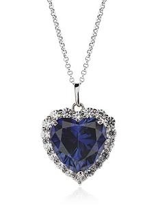 carat-london-sterling-silver-sapphire-border-set-heart-pendant