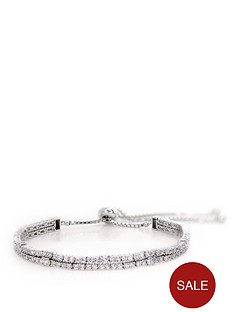 carat-london-sterling-silver-millenium-two-row-brilliant-cut-slider-bracelet-with-white-gold-finish