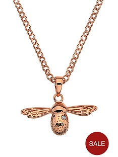 hot-diamonds-rose-gold-plated-sterling-silver-diamond-bee-pendant