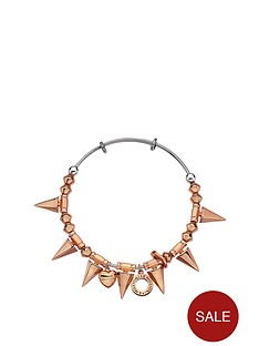 emozioni-by-hot-diamonds-yellow-gold-or-rose-gold-plated-spike-bangle