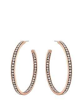 lola-and-grace-rose-gold-plated-slim-line-large-hoop-earrings-50mm-made-with-swarovski-elements