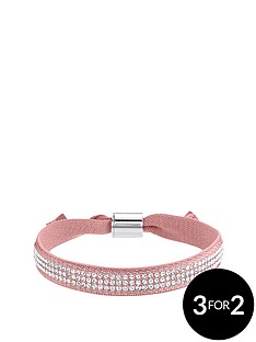 lola-and-grace-peach-crystal-stretch-ribbon-bracelet-made-with-swarovski-elements